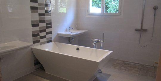 Après renouvellement salle de bain de QLS